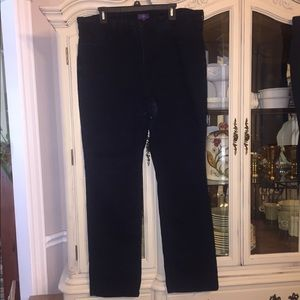 NYDJ Marilyn black high waist Straight Jeans 18W